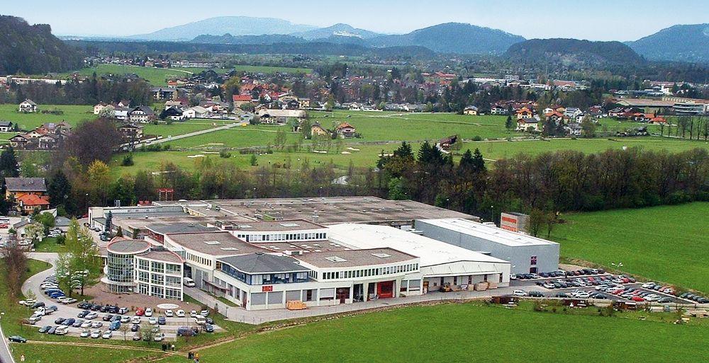 Az ausztriai központ Hallein-ben