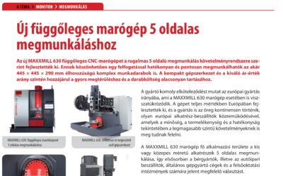 A TECHMONITOR cikke A MAXXMILL 630 gépről