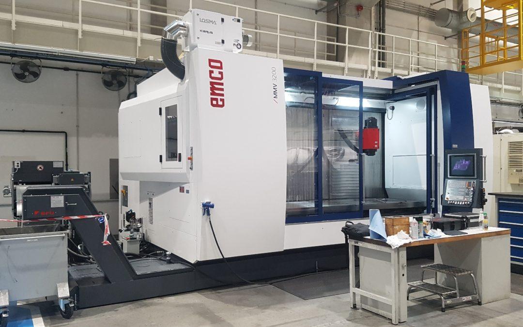 EMCO MMV 3200 marógépét telepítettünk